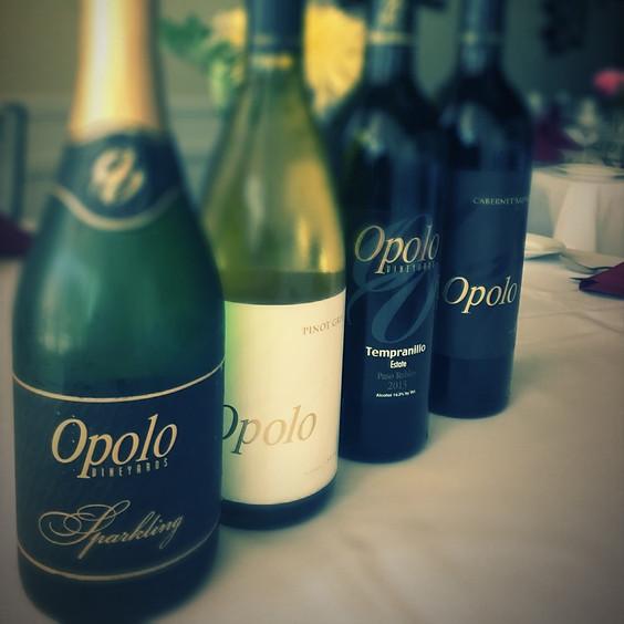 Opolo Vineyard Wine Tasting