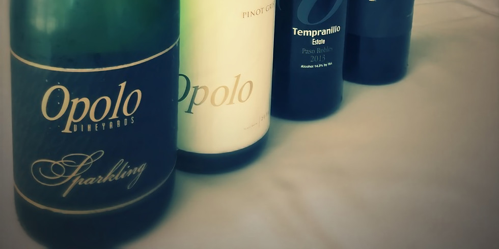 Opolo Vineyard Wine Tasting
