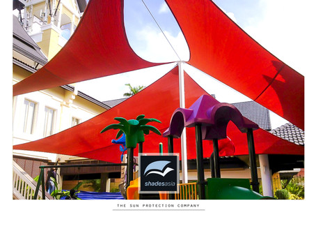Our shade sails protect kids from the sun at resorts, schools, swimming pools & playgrounds.