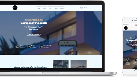 New website launch for high potential concept