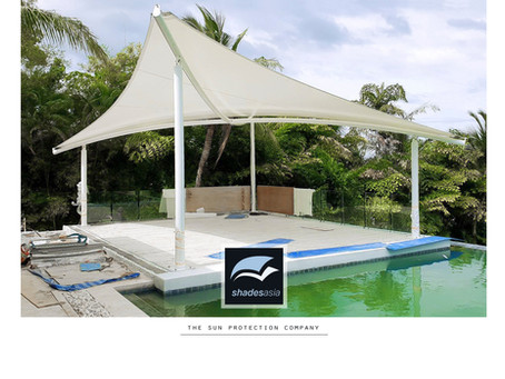 Butterfly Hypar Shade Structures