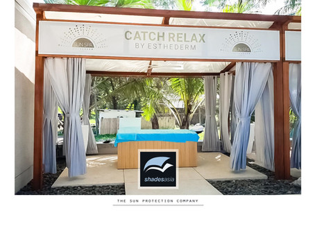 Unbelievably enticing massage cabanas