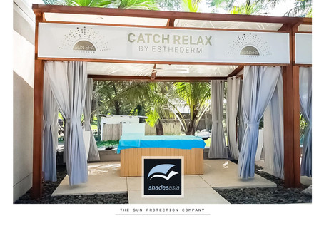 Unbelievably enticing massage cabanas
