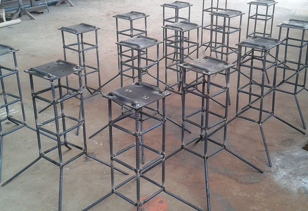 steel inserts for shade sail columns
