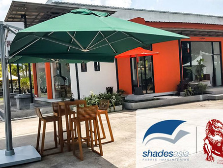 Come checkout outdoor shade & furniture on display at Brand House Asia showroom Cherngtalay