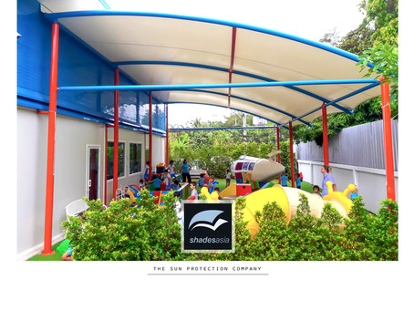 Shade & rain protection solutions for schools