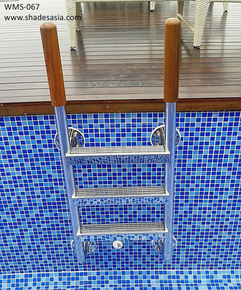 316 grade stainless steel pool ladder