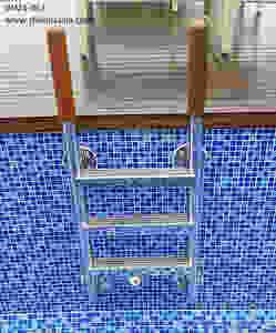 316 grade stainless steel pool ladder