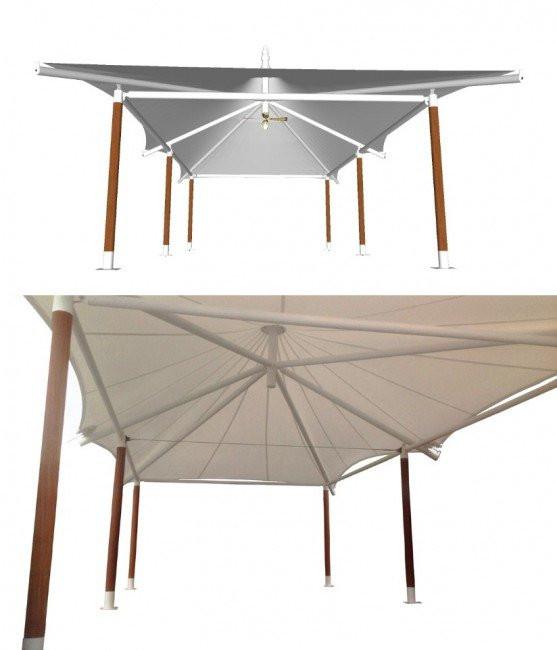Parasol Blanc Laos render product