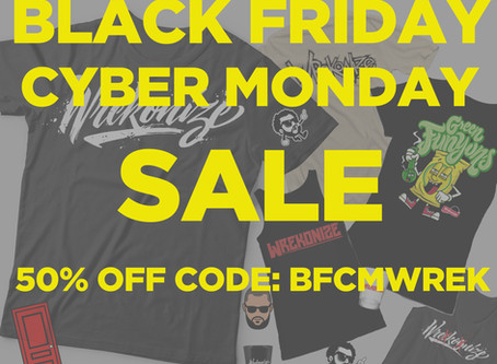 BFCM 50% OFF SALE GOING ON NOW!