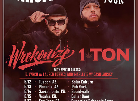 TOUR ANNOUNCEMENT: #WhiskeyInTheWestTour
