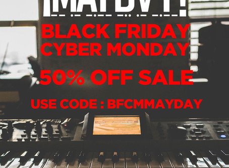 Black Friday Cyber Monday Sale!