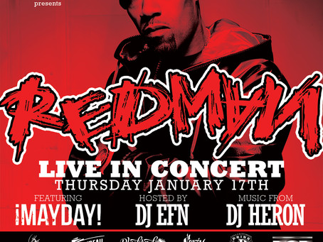 ¡MAYDAY! Opening for Redman in Miami