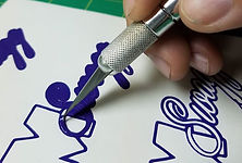 Die-cut decals