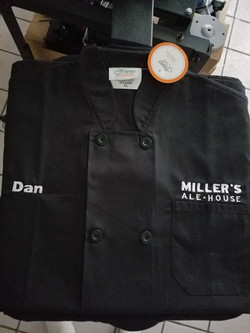 Millers ale house Embroidered chef c