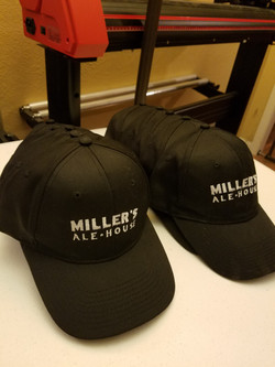 Millers Alehouse Embroidered hats