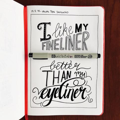 Fineliner / Eyeliner