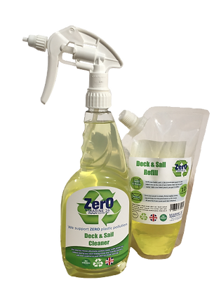 Marine 16 ZERO Deck & Sail Bottle and Refill Twin Pack