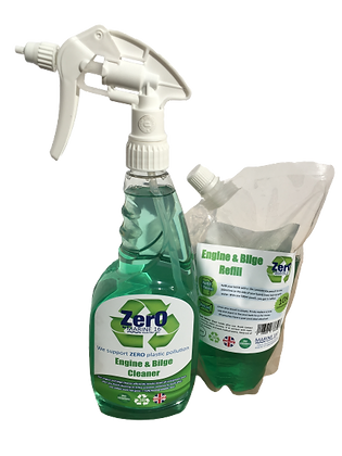 Marine 16 ZERO Engine and Bilge  Bottle and Refill Twin Pack