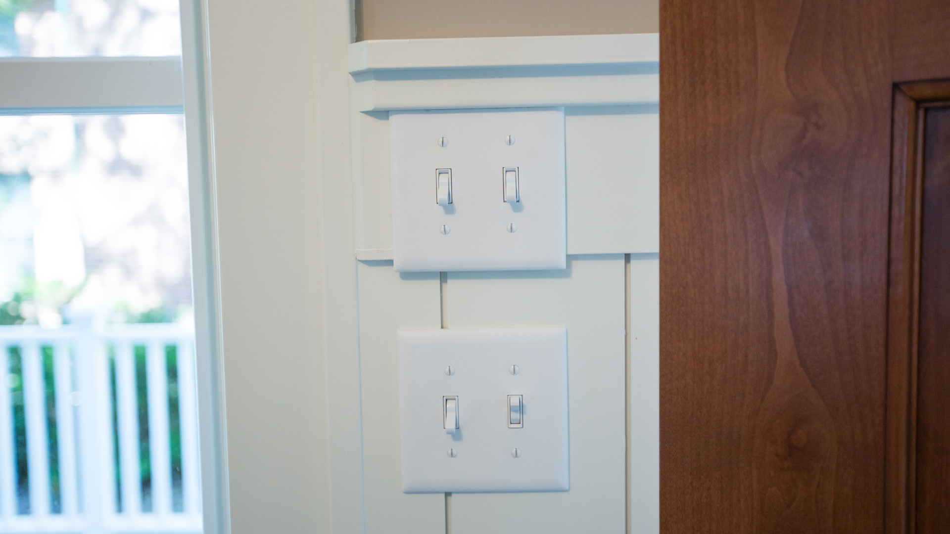 Lake Minnetonka, Excelsior, Switches in Vertical Shiplap