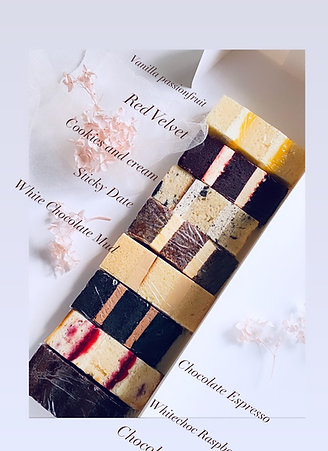 Wedding cake Taster Box ( available for pickup from 31st oct )