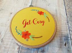 Get Cosy Mustard Hoop 8