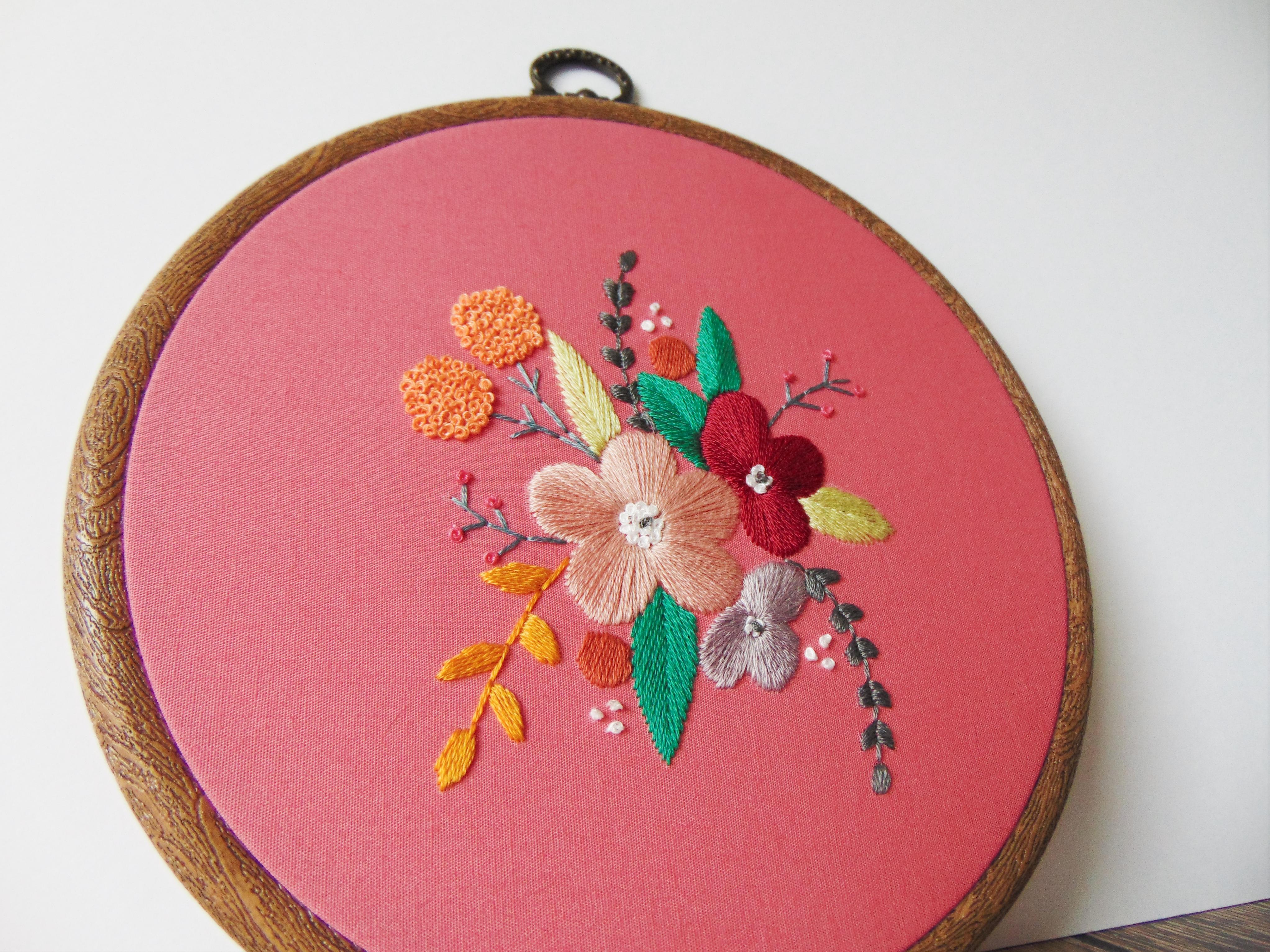 Pink Floral Display 6