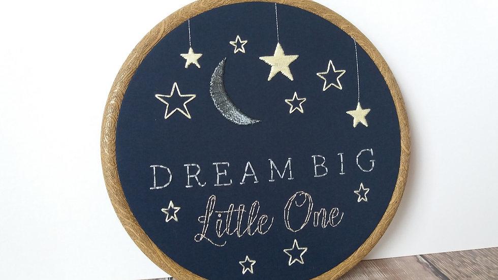 Dream Big - Moon & Stars