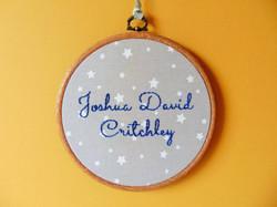 Name Stars - Joshua David 7