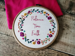 Patience, Time & Faith 5