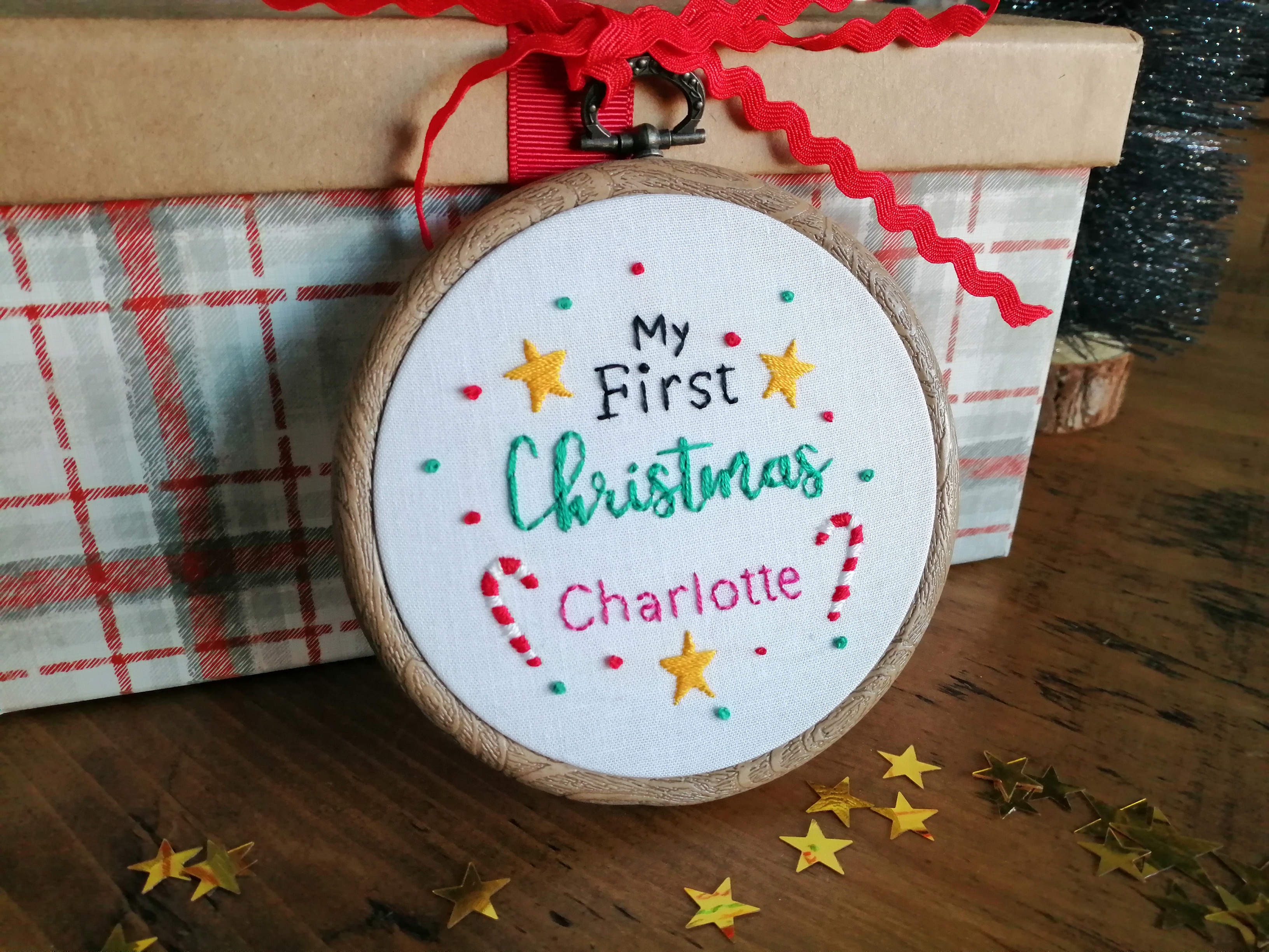First Christmas - Charlotte 1