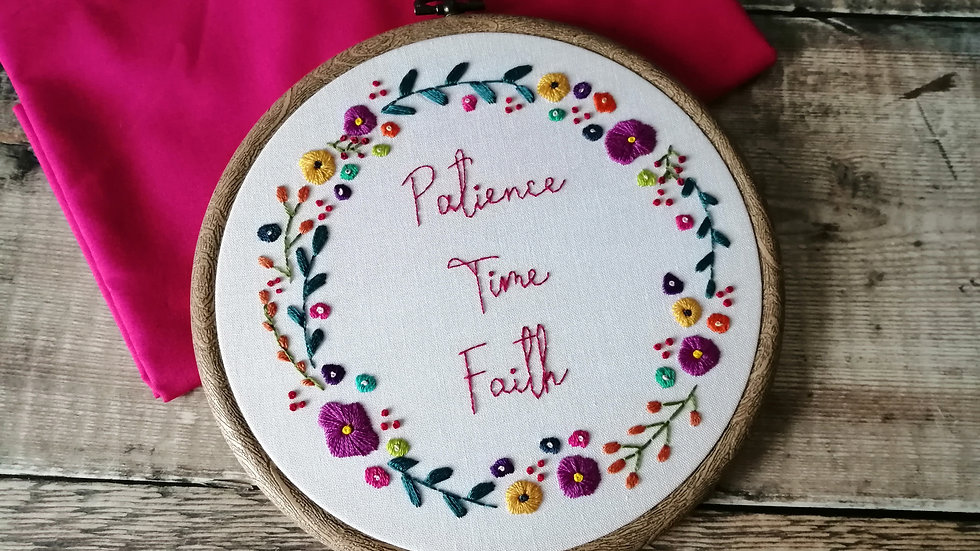 Patience, Time & Faith