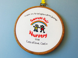 Nursery Logo - Garret Hall 2