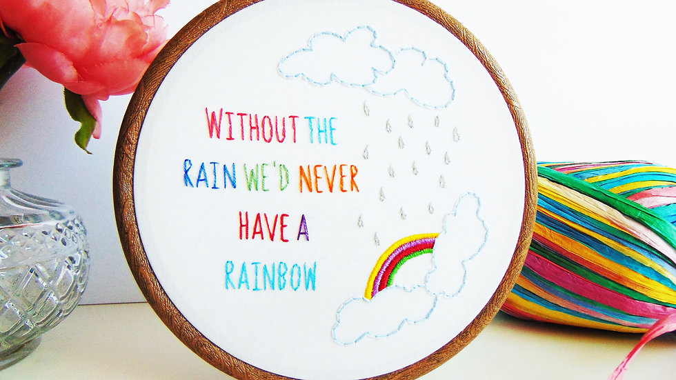 Without The Rain....