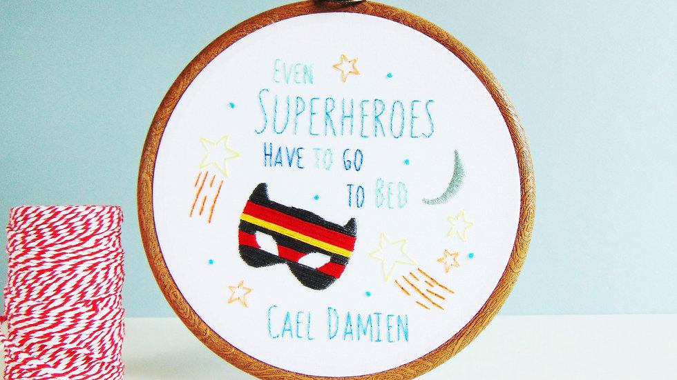 Superheroes Bedtime
