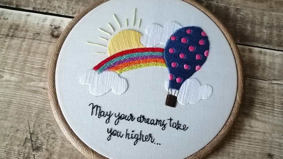 May Your Dreams Take You Higher
