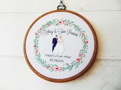 Bride & Groom Wreath - Kelsey & Tom 3