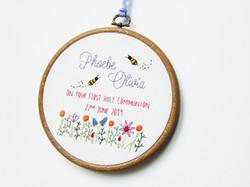 Bees Holy Communion - Phoebe 2