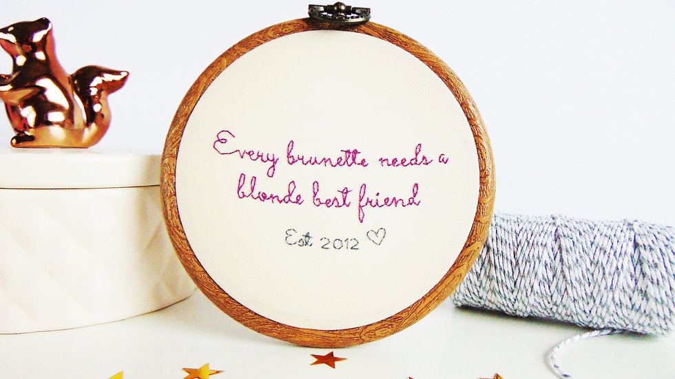 Every Brunette Needs A....