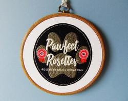 Logo - Pawfect Rosettes 1