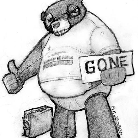 Hoochie Bear Gone