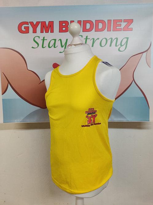 The Gym Buddiez Yellow Vest