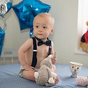 Cake Smash -Baby Elliot