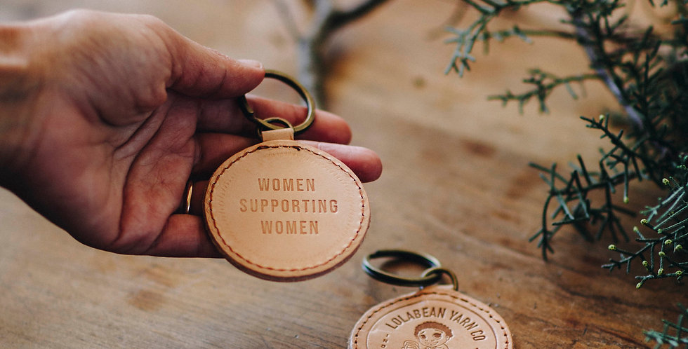 WOMEN SUPPORTING WOMEN Keyfob
