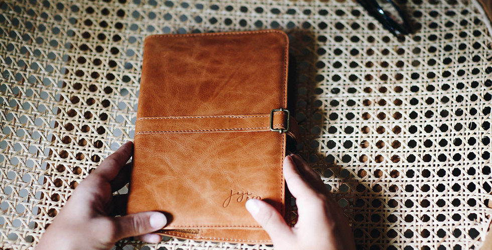 JOURNAL Cover | Saddle Brown