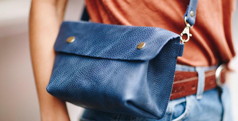 The Fiber Fanny Pack - Blue