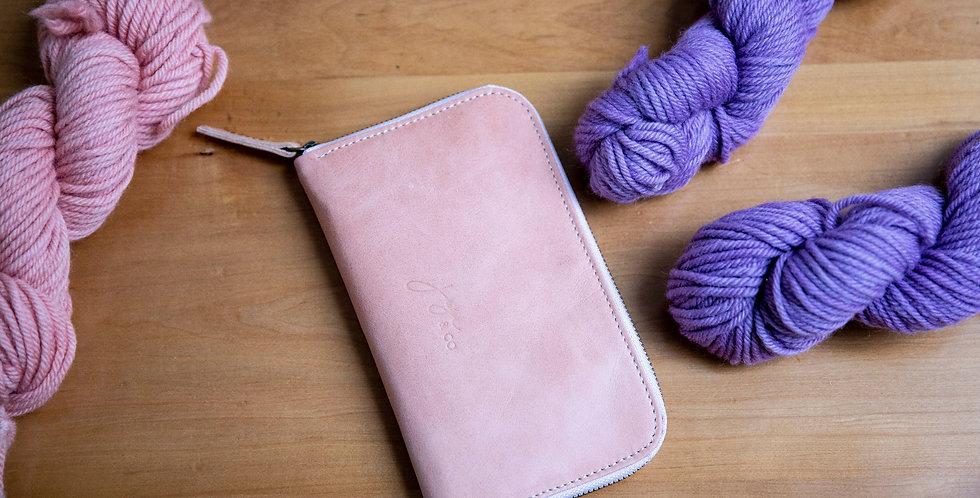 FIX Needle Wallet | Dusty Pink