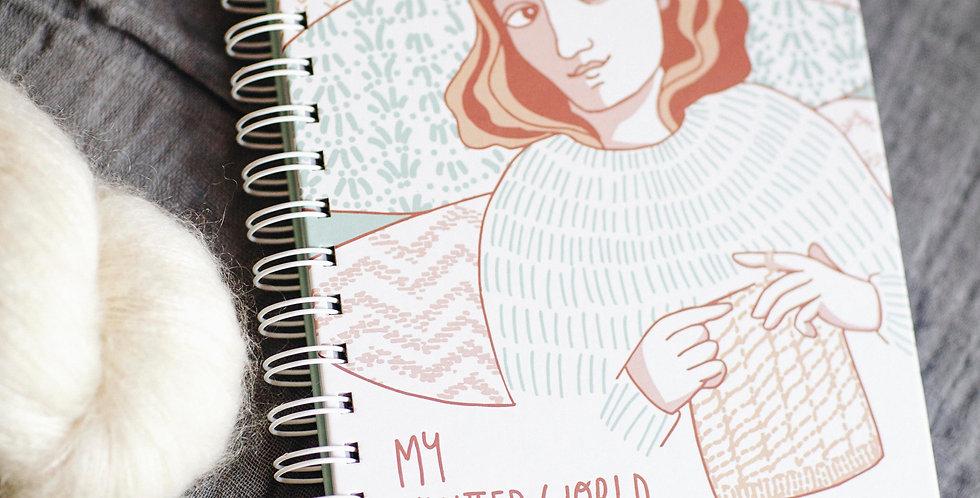 MY KNITTED WORLD Bullet Journal