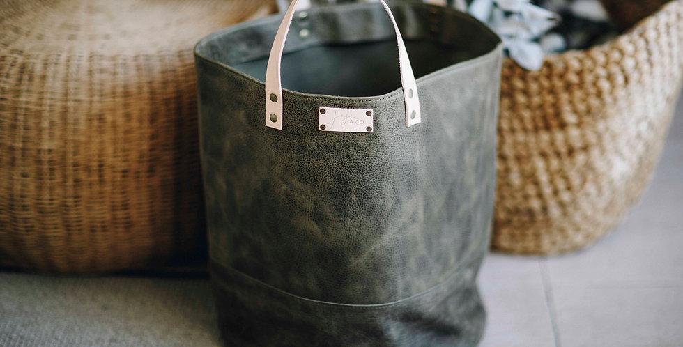 XL PAMPA bucket | Olive