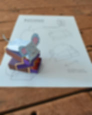 ratinho de papel